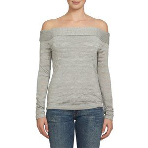 NWT Nordstrom 1.STATE Off the Shoulder Knit Top